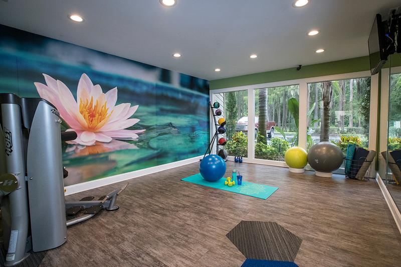 Yoga Studio | Our new fitness center will also feature a yoga studio.