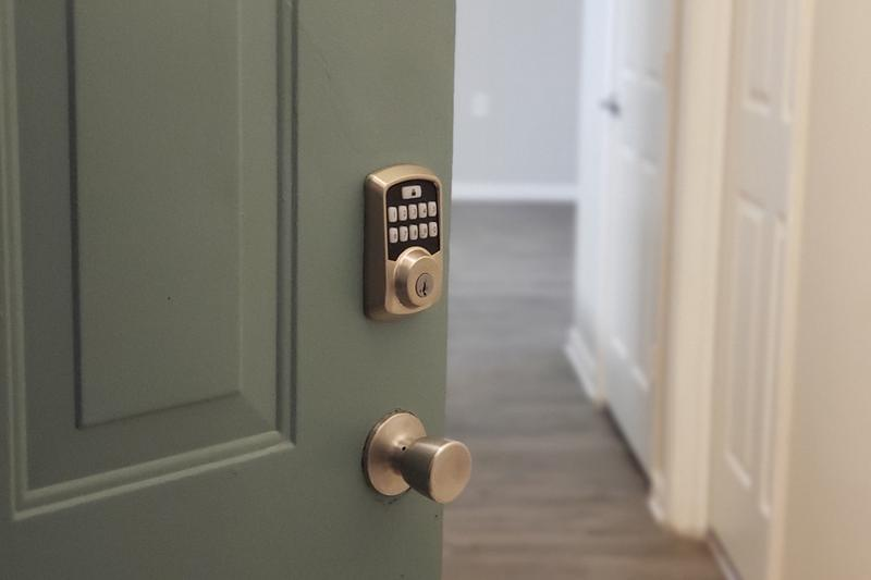 Smart Locks | Our smart home package includes Bluetooth smart locks that you can control from your phone.
