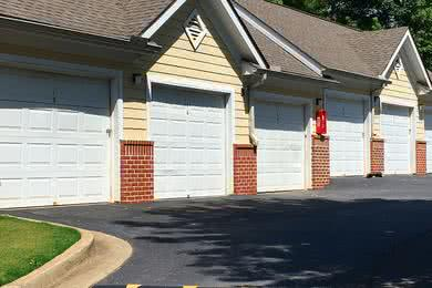 Detached Garages | Residents have the option of renting out one of our detached garages - ask the office for more information!