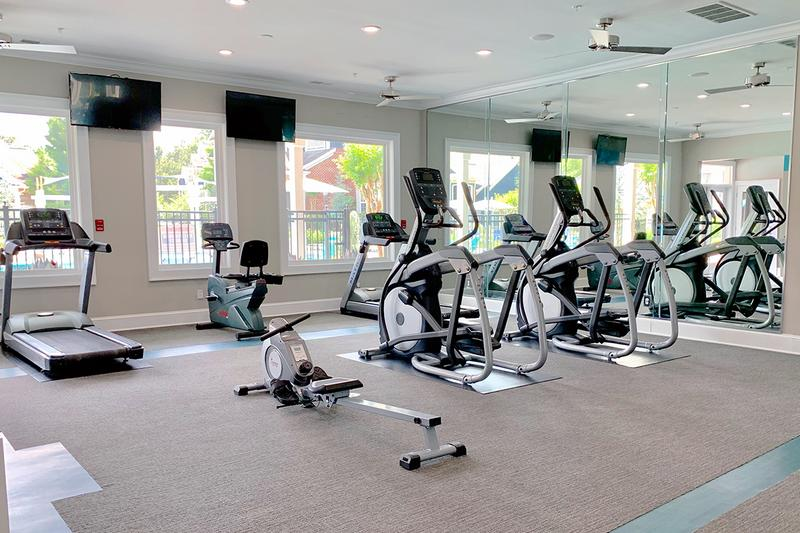 Fitness Center | Our fitness center features all the cardio and weight training equipment you need for a full body workout.