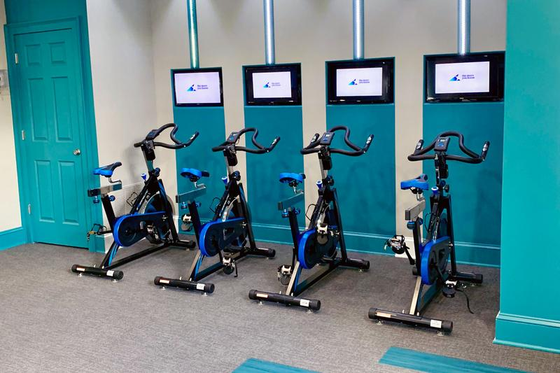 Spin Studio | Our fitness center also features a spin studio.