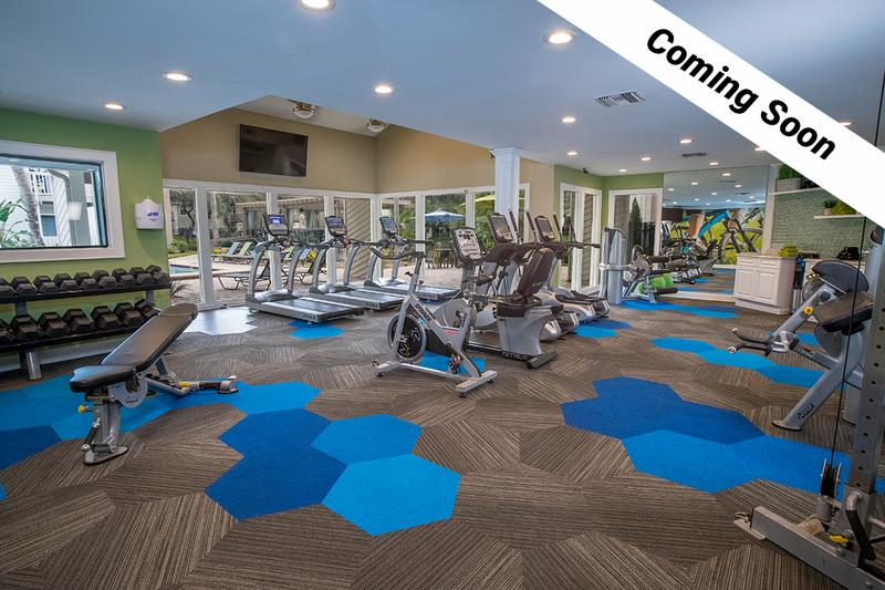 Fitness Center | Our fitness center will feature all the cardio and weight training equipment you need for a full body workout.