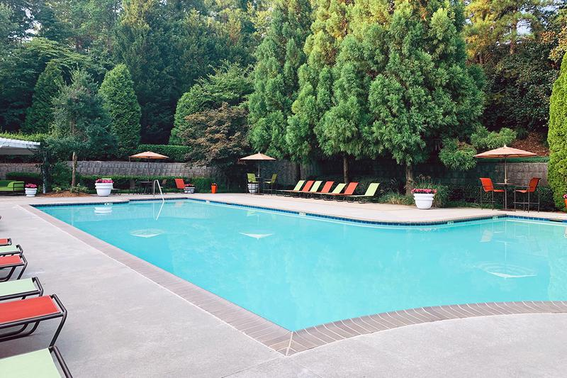 Sparkling Swimming Pool | Take a dip in our sparkling swimming pool.