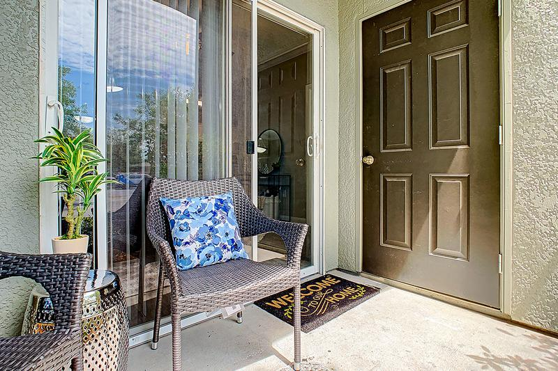 Private Patio | Enjoy some fresh air from your private patio.