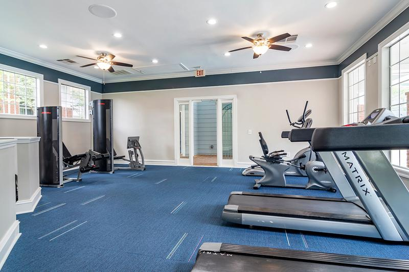 Cardio & Weight Training | Our Fitness Center has all the cardio and weight training equipment you need for a full body workout.