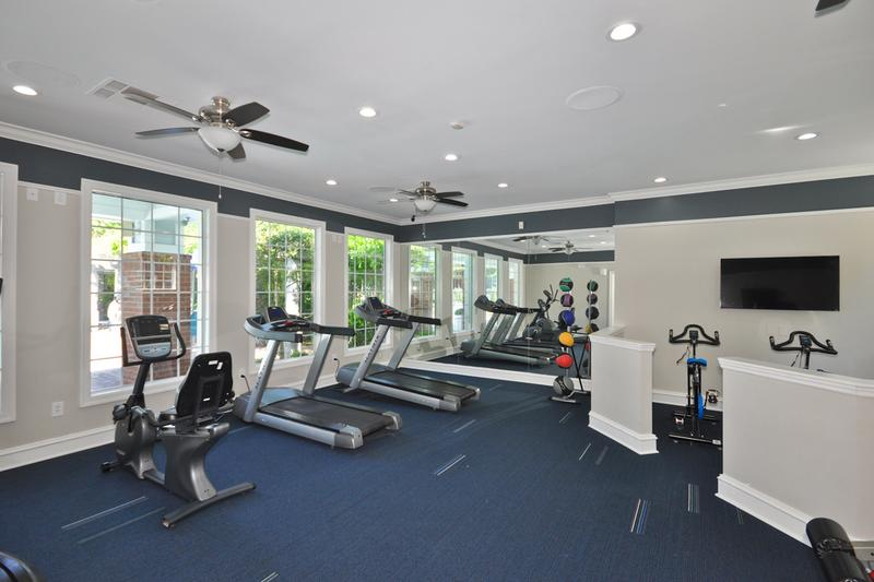 Fitness Center | Get in your workout in our resident fitness center.