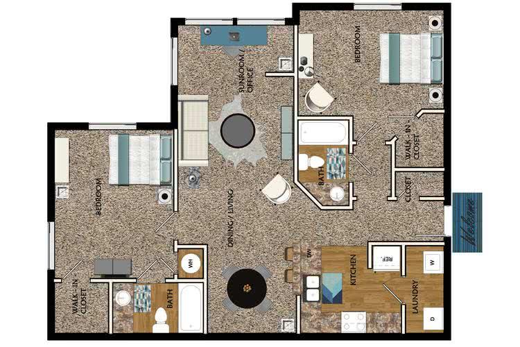 2 bedroom apartments in atlanta ga west eleven apartments