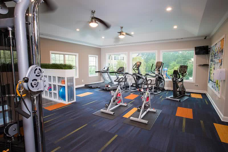 Brand New Fitness Center | Enjoy our newly renovated, state-of-the-art fitness center, including a yoga studio, weight training, and cardio equipment.