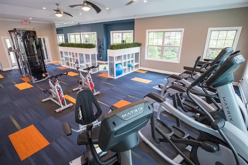 Fitness Center | Get an invigorating workout anytime during the day in our brand new, 24-hour fitness center.
