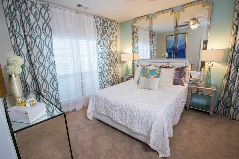 Master Bedroom | Master bedrooms feature spacious walk-in closets, plush carpeting, and large windows
