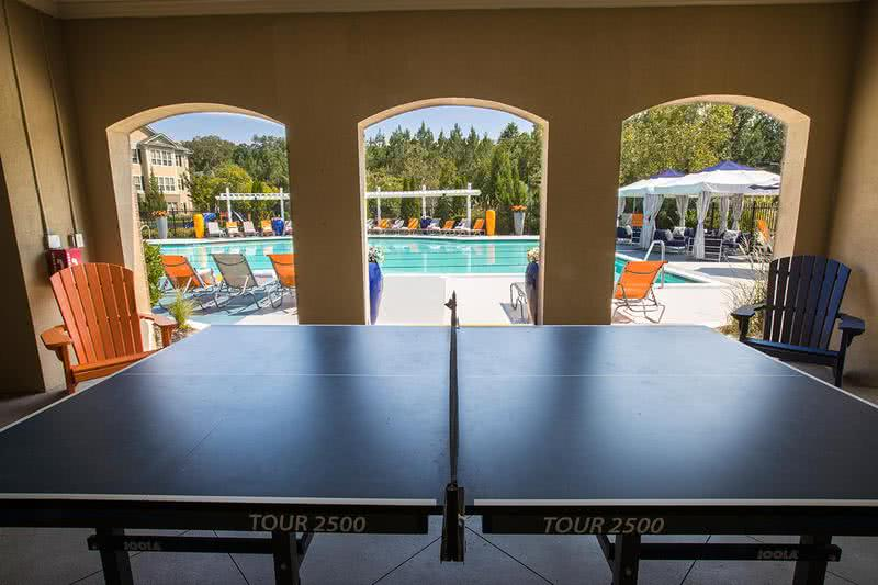 Ping Pong | Play a game of ping pong with some friends at our poolside ping pong table.