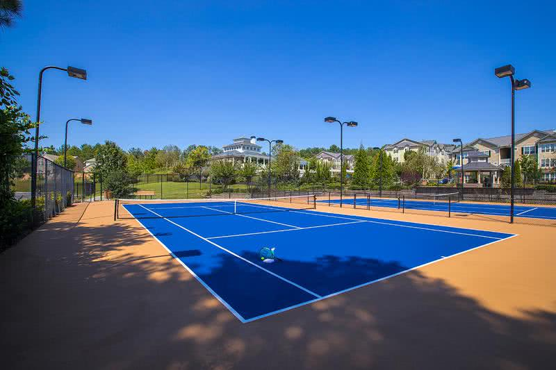 Tennis Court | Play a game on our over-sized tennis courts.