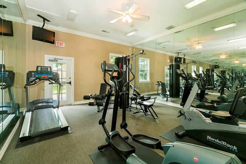 Fitness Center | Get fit in our fitness center featuring all the cardio and weight training equipment you need.