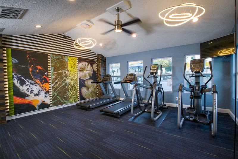 Fitness Center | Fully equipped fitness center perfect for your workout!