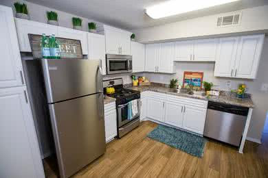 Updated Kitchens | Big, bright, and newly remodeled, eat-in kitchens... perfect for entertaining.