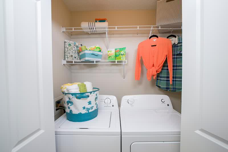 Laundry Room | Large laundry room complete with washer and dryer.