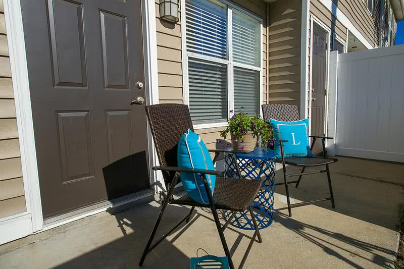 Patio | Enjoy your very own private patio.