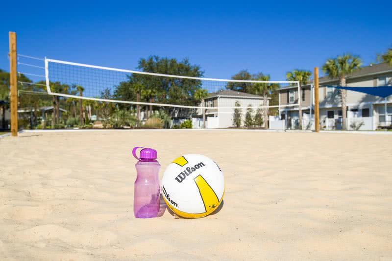 Sand Volleyball | Get in a game at our sand volleyball court.