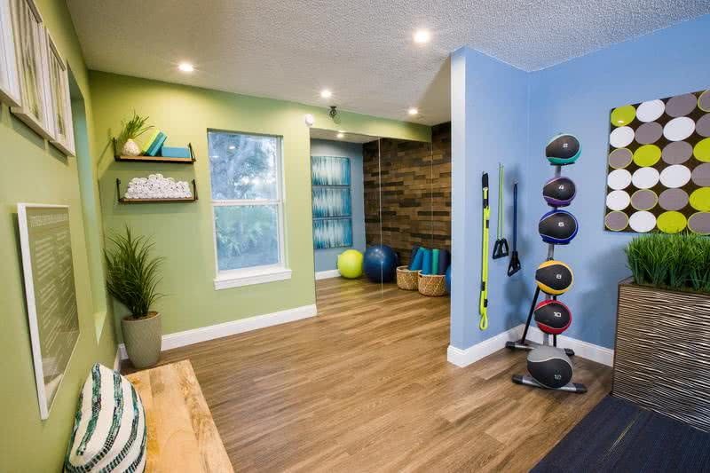 Yoga Studio | Our resident fitness center also features a yoga studio.