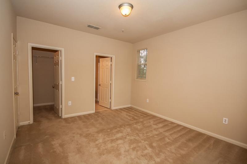 Bedroom | Bedrooms featuring spacious walk-in closets with built-in organizers.
