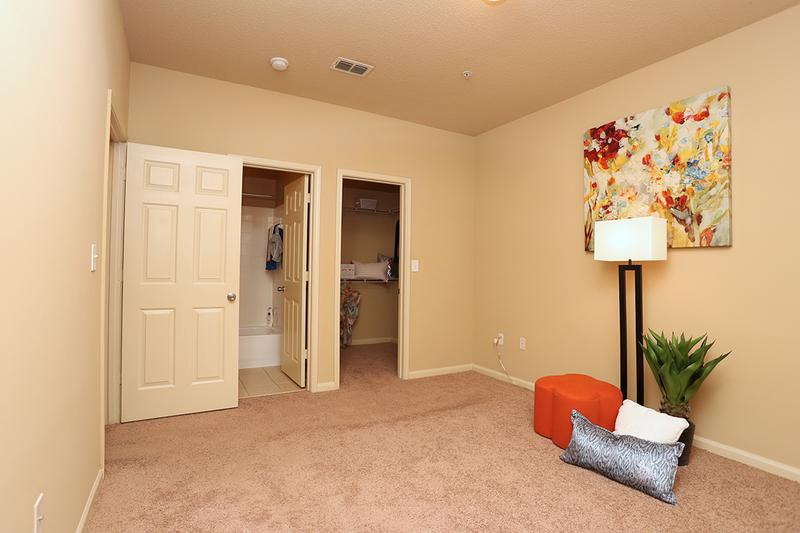 Master Bedroom | Master bedrooms featuring walk-in closet and your very own master bathroom.