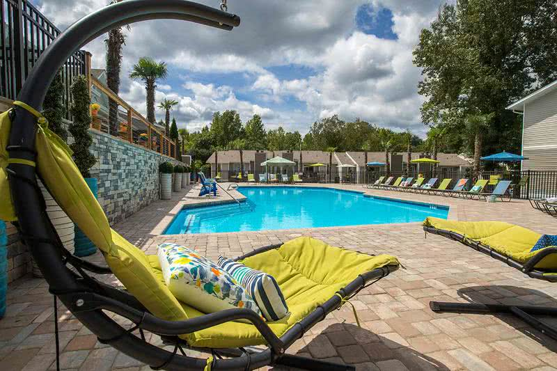 Poolside Loungers | Relax by the pool in one of our many poolside loungers.