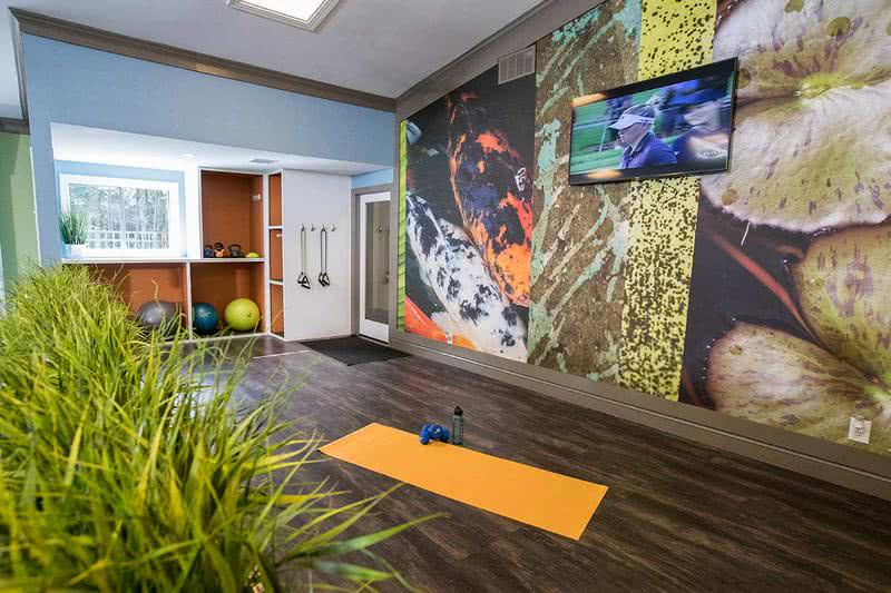Yoga Studio | If yoga is more your thing, we have a yoga studio attached to the fitness center as well.
