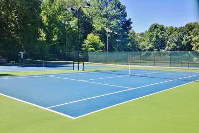 Tennis Court | Play a game with friends on one of our tennis courts.