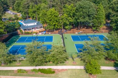 Tennis Court | Play a game on one of our tennis courts.