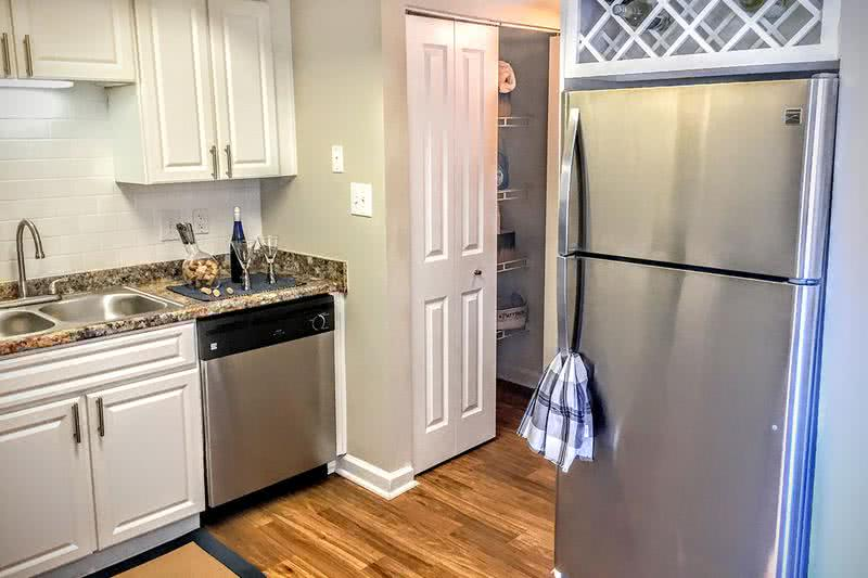 Pantry | Our spacious, open kitchens feature a large pantry.