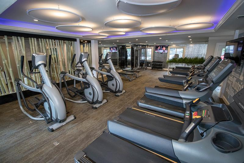 State-of-the-Art Fitness Center | Get in a workout at our brand new, state-of-the-art fitness center, open daily from 6 AM-10 PM!