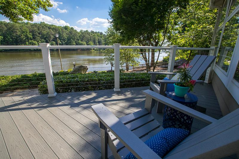 Lake Deck | Take in the beautiful lake views from our deck.