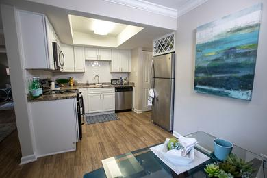 Eat-In Kitchen | Your new kitchen is large enough for a table and chairs in addition to having a separate dining room.