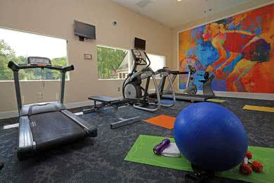 Fitness Center | No need for a gym membership when we have our very own 24-hour fitness center!