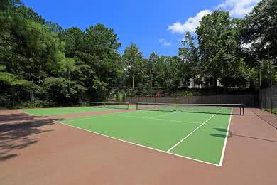 Tennis Court | Play a game of tennis on one of our regulation size courts.