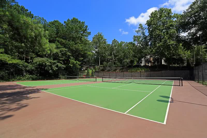 Tennis Courts | Tennis your thing? No problem! Bring your friend and challenge them to a game of doubles.