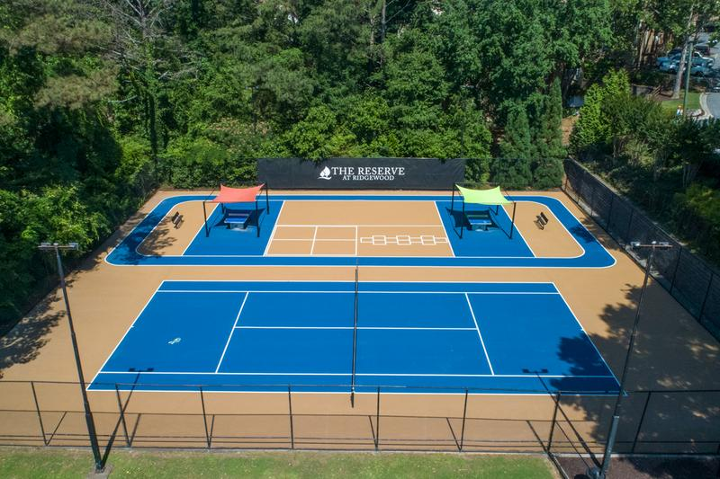 Sports Court | Enjoy an invigorating game on our brand new Sports Court!