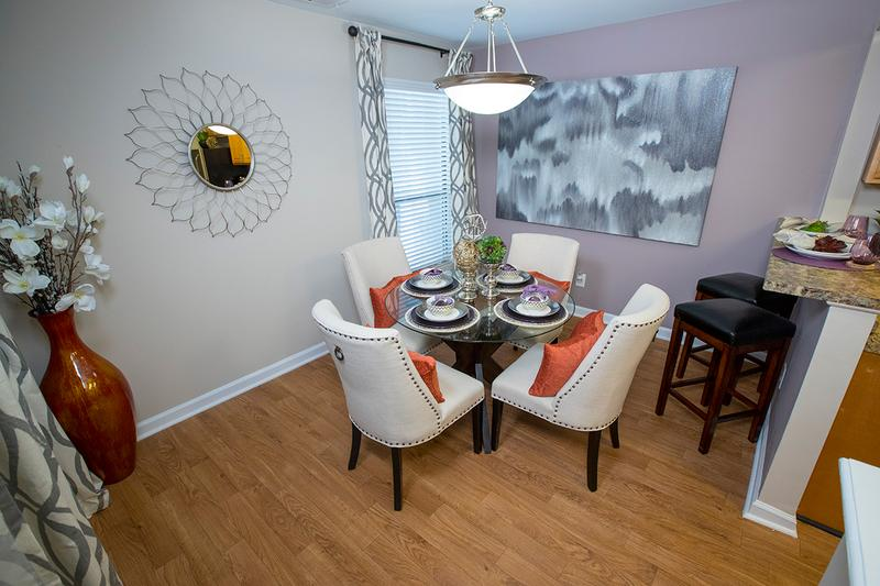 Large Dining Areas | Enjoy the convenience of having a separate dining area that opens up to the kitchen.