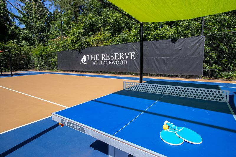 Ping Pong Tables | Play a game of ping pong on our sports court.