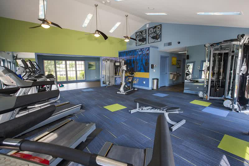 Fitness Center | Our resident fitness center has all of the cardio and weight training equipment you need.
