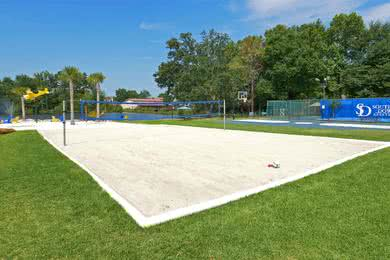 Sand Volleyball Court | Play a game on our sand volleyball court.