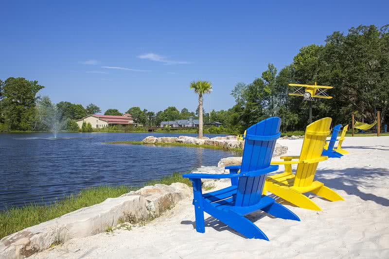 Statesboro's Only Beach | Enjoy beach front living and relax in the sun at our beach front community.
