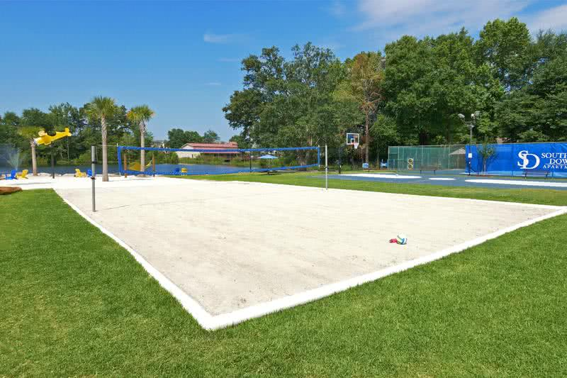 Volleyball Court | Live active and play with friends at our sand volleyball court.
