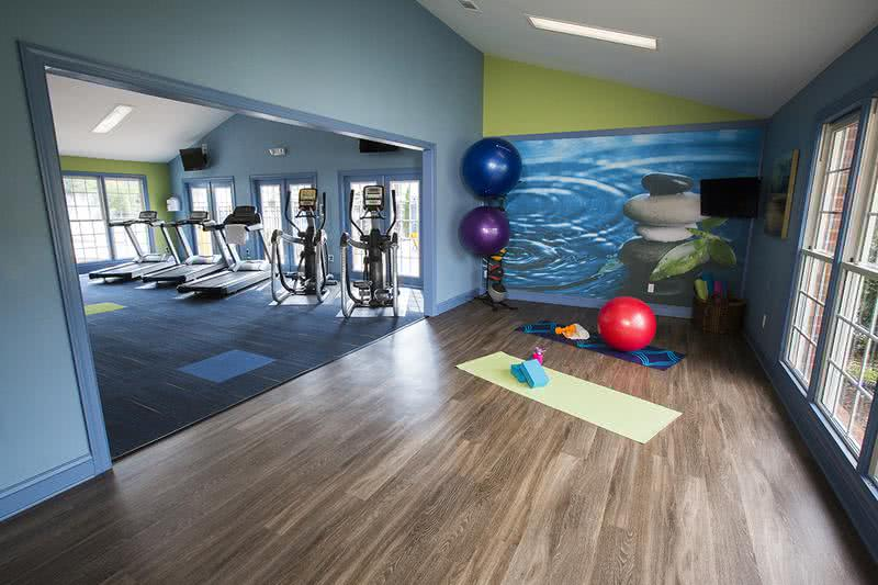 Yoga Studio | Within our brand new fitness center, is a yoga studio.