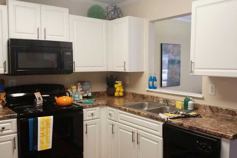 2x2.5 Kitchen | Your newly remodeled kitchens comes with all the appliances you could ask for! Even a dishwasher!