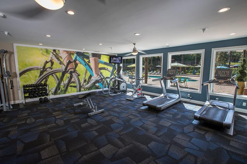 Fitness Center | Get an invigorating workout at our community fitness center.