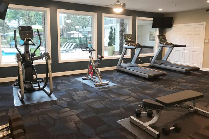 Fitness Center | Get an invigorating workout in our fitness center, free for our residents!