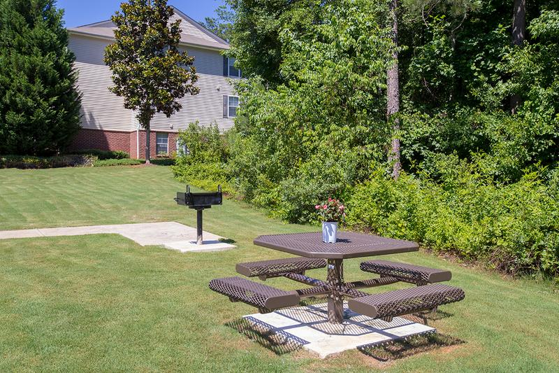 Picnic Area | Enjoy a cookout with friends and family at our picnic area with grill.