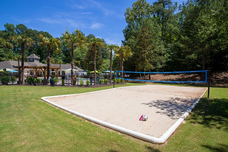Sand Volleyball Court | Play a game of volleyball on our sand court.