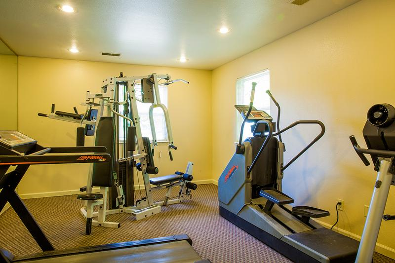 Fitness Center | Maintain an active lifestyle with an invigorating work out in our fitness center.